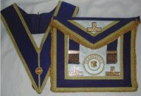 Provincial collar and apron